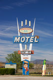 Sign of Stagecoach 66 Motel Stock Photography
