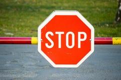sign stop στοκ εικόνες