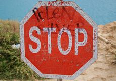 Sign Stop Stock Images