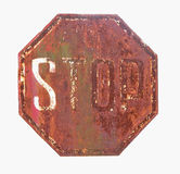 Sign stop Stock Photos