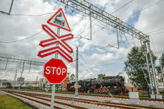 Sign Stop Royalty Free Stock Photo
