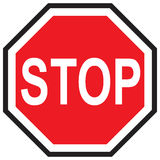 Sign Stop in Vector Stock Images