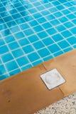 Warning Sign at Swimming Pool Royalty Free Stock Photo
