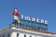 Sign of tio pepe, madrid Stock Photos