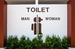 Sign Toilet Royalty Free Stock Images