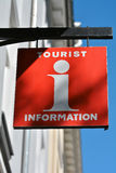 Sign for the Tourist Information Stock Photo