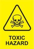 Sign Toxic Hazard in Vector Royalty Free Stock Photos