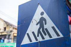 Sign traffic Royalty Free Stock Image