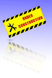 Sign - Under Construction Royalty Free Stock Image