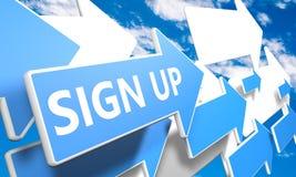 Sign up Stock Photos