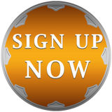 Sign up now button Royalty Free Stock Image