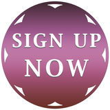 Sign up now button Stock Photography
