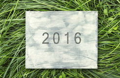 2016 sign Stock Photography