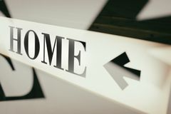 Sign of word home Royalty Free Stock Photography