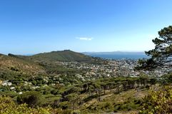 Signaalheuvel, Kaapstad, Zuid-Afrika. Stock Afbeeldingen