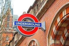 signaalstraat in het vervoer van Londen Engeland Europa Stock Foto's