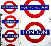 signaalstraat in oud het vervoerpictogram van Londen Engeland Europa Royalty-vrije Stock Foto