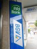 Signage de BGV Badische Versicherungen imagens de stock