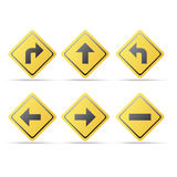 Signage de direction illustration libre de droits