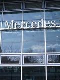 Signage de Mercedes-Benz photographie stock