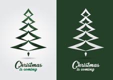 Signage de symbole d'icône de Noël Icône créative d'événement de style Photo libre de droits