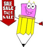 Signage de vente illustration stock