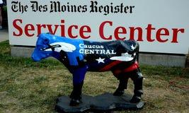 Signage dla Des Moines Metrykalnego Usługowego centrum obraz royalty free