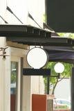 Signage do fundo na arquitetura e no interior Foto de Stock Royalty Free