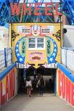 Signage do parque de diversões Fotografia de Stock Royalty Free