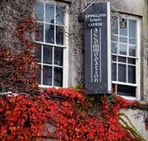 Signage för hotell i Tralee Irland Royaltyfria Foton
