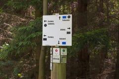 Signage in Forst Lizenzfreie Stockbilder