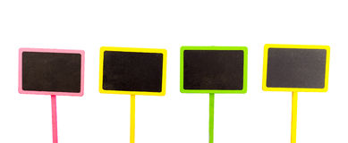 Signage houten raad Stock Afbeeldingen