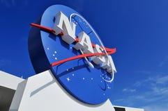 signage NASA s логоса Стоковые Фото