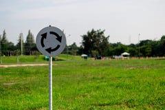 Signage rotonde royalty-vrije stock foto's