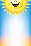Signage van de zonneschijn stock illustratie