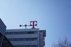 Signage van Deutsche Telekom royalty-vrije stock foto