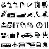 Signage voorwerpen royalty-vrije illustratie