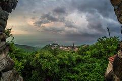 Signaghi - eine Stadt der Liebe, Georgia Stockfotos