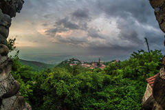 Signaghi - uma cidade do amor, Geórgia Fotos de Stock