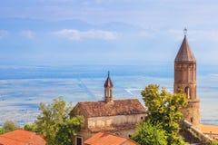 Signagi Kakheti region av Georgia Fotografering för Bildbyråer