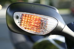 Signal. Bike signal close up royalty free stock images