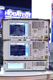 Signal analyzer Stock Images