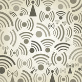 Signal a background Royalty Free Stock Photo