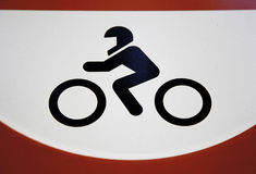 Signal bike Stock Images