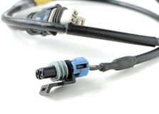 Signal Cable Connector of Car Stock Photo