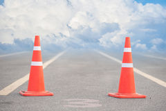Signal cone Stock Photography