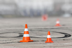 Signal cone Stock Images