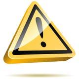 Signal d'avertissement illustration stock