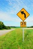 Signal d'avertissement Photo stock