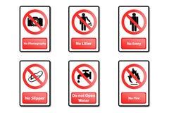 Signal d'avertissement Illustration de Vecteur